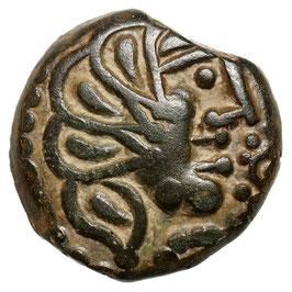 Gallia, Senones (~50 BCE) Adler/Rabe