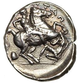 Königreich PAEONIA, Patraos (325-315) Tetradrachme