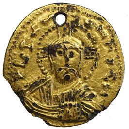 NICEPHORUS II. und BASILIUS II. ? (963-969) Fourée SOLIDUS, Konstantinopel - RR!