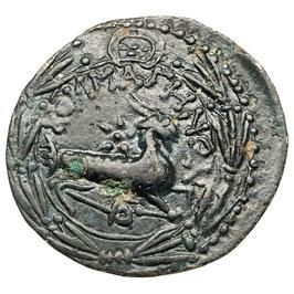 Augustus, Agrippa (10-14) AE, Nemausus, Krokodil