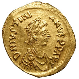 Justinian I. (527-565) Semissis, Victory
