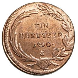 Joseph II. (1765-1790) 1 Kreutzer, 1790 S