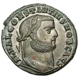 Constantius I. Chlorus (305-306) Alexandria, Genius