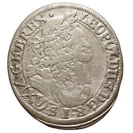 Leopold I. (1657-1705) XV Kreuzer, 1685, Mainz