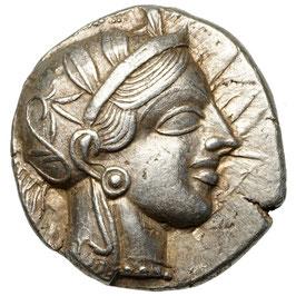 Attica, Athen (454-404 BCE) AR Tetradrachme