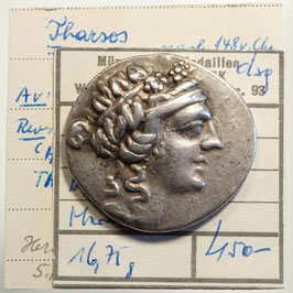Thasos (nach 146 v.u.Z.) AR Tetradrachme