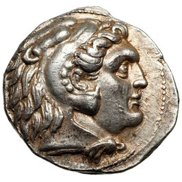 Seleukos I. Nikator (312-281 BCE) AR Tetradrachme
