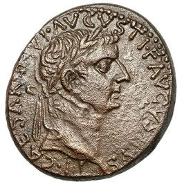 Tiberius (14-37) Commagene, Füllhörner, Caduceus