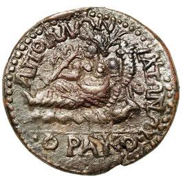 Pisidia, Apollonia Mordiaeum, Gallienus (253-268) Medaillon