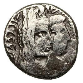 Nabatäer, Petra,  Aretas IV. mit Shaqilat (9 BCE-40 CE)