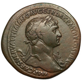 Trajan (98-117) Sesterz, Felicitas