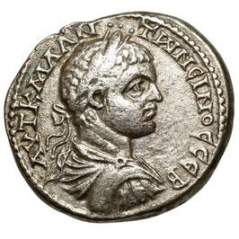Elagabalus (218-222) BI Tetradrachm, Antioch, Eagle