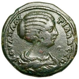 Moesia Inferior, NIKOPOLIS. Plautilla (202-211) Zeus