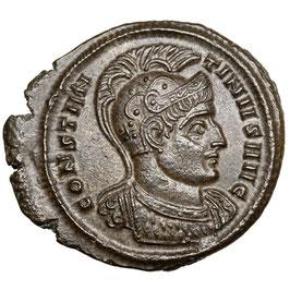 Constantinus I. (306-337) Aquileia,  Æ Follis