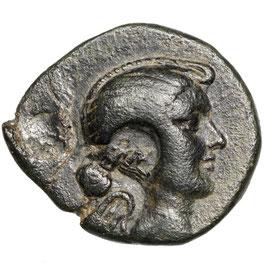 Fulvia (41-40) AE, Eumeneia