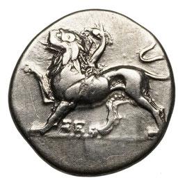 Sikyon (~330-280 BCE) Hemidrachme, Chimaira