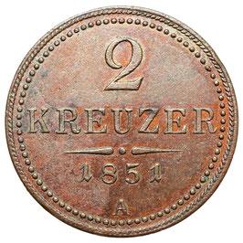 Franz Joseph I. (1848-1916) 2 Kreuzer, A