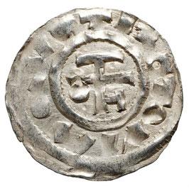 Richard I. der Normandie (ohne Furcht) 943-996, Monogramm