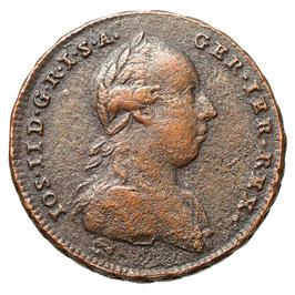 Joseph II. (1765-1780) 1/2 Kreuzer, 1772, Wien