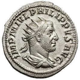 Philippus I. Arabs (244-249) AR Antoninian, Aequitas