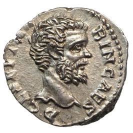 Clodius Albinus (195-197) AR Denar, Providentia