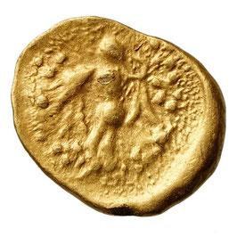 """Boier, """"Athena Alkis"""" series (200-100 BCE) AV 1/8Stater"""