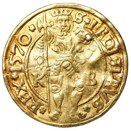 Maximilian II. (1564-1576) Dukat, Kremnitz 1570 KB