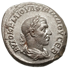 Philippus I. Arabs (244-249) BI Tetradrachme - TOP!