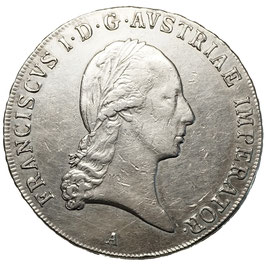 Franz I. (1806-1835) Taler, Wien, 1823 A