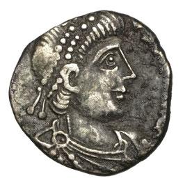 Vandalen, GEISERICH (428-477) Siliqua, Karthago, Roma