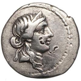 IMPERATOR - Julius Caesar (49-48) AR Denar
