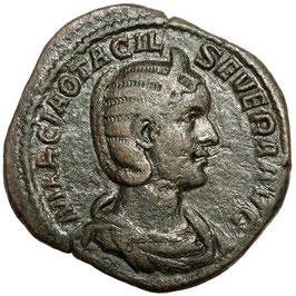 Otacilia Severa (244-249) Sestertius, Concordia