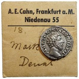 Marcus Aurelius (138-161) AR Denar, Concordia