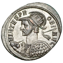 Probus (276-282) AE Antoninian, Kyzikos, Kaiser zu Pferd