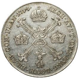 Franz II. (1792-1835) 1/4 Kronentaler, Wien, 1794 A