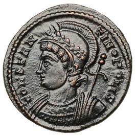 Constantinus I. (307-337) AE Follis, Lugdunum, Victoria