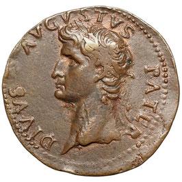 "Augustus ""Paduaner"" nach G. Cavino, AE Guss"