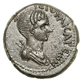 Lydia, Hierocaesarea, Zeit Nero (54-68) Artemis, Hirsch