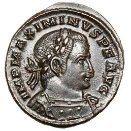 Maximinus II. Caesar (306-308) Trier, Genius