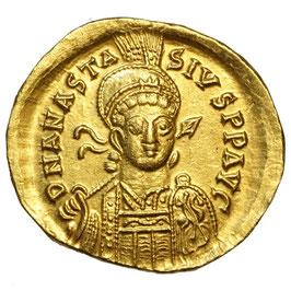 Anastasius I. (491-518) AV Solidus, Konstantinopel