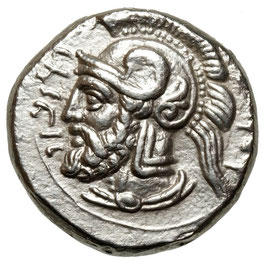 Cilicia, Satraps, Pharnabazos (379-374 BCE) Stater