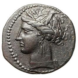 Zeugitania, KARTHAGO (300-264 BCE)   AE
