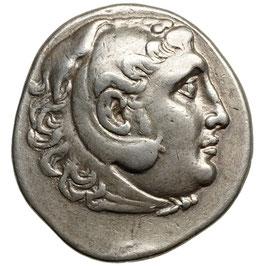 Alexander III. der Große (~215-190) AR Tetradrachme
