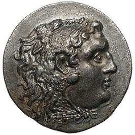 Alexander III. der Große (posthum, ~175-125 BCE) AR Tetradrachme, Mesembria