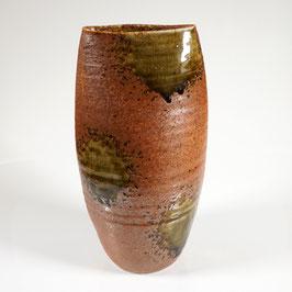 Japan, Große Vase im Stile der Seto-Keramik