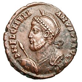 Iulianus II. Apostata (360-363) AE, Kranz