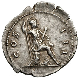 Hadrian (117-138) Denar, Roma