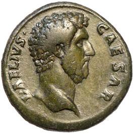 L. AELIUS (Caesar, 136-138) AE Sesterz