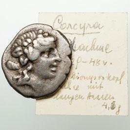 Corcyra (229-248) Drachme, Pegasus