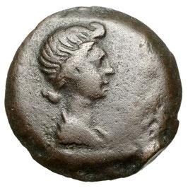 Livia (38 BCE-14 AD) AE, Alexandria - RR!